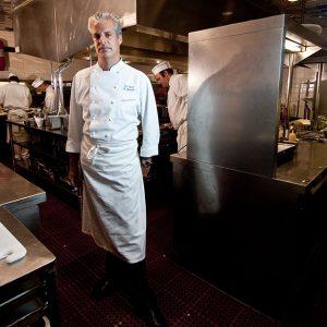 Erik Ripert, chef.