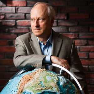 MIchael Sandel, political philosopher and Harvard professor.