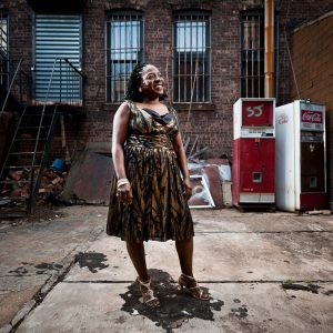 Sharon Jones, soul singer.