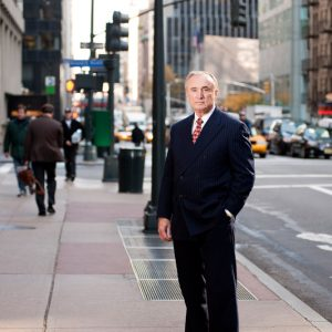 William Bratton, former NYPD Commissioner.