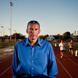 Joaquim Cruz, olympic runner.